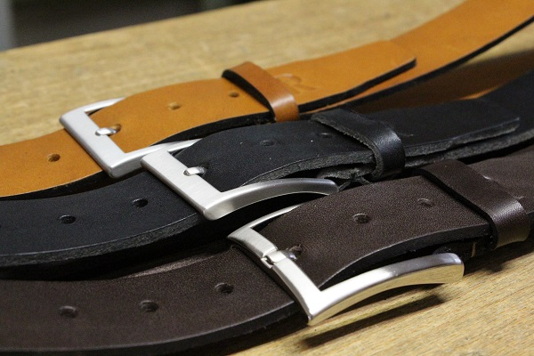 Handgefertigte Ledergürtel, Gürtel handgemacht